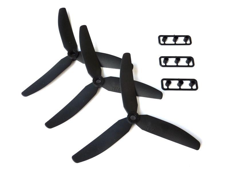 5x3 gemfan 3 blatt propeller 3x linksdrehend normal. Black Bedroom Furniture Sets. Home Design Ideas