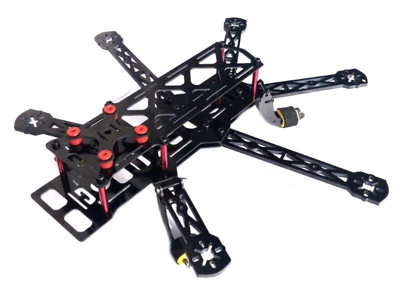 QAV 300mm 6-Axis Mini Carbon Hexacopter Frame Kit, 24,90 €