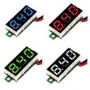 Mini Digital Volt Meter - Spannungstester mit LED...