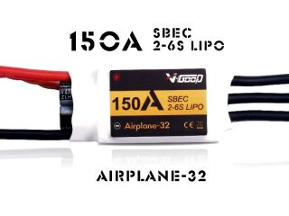 150A Airplane-32 - V-Good-Sunrise - 2-6S - Flug Brushless Regler