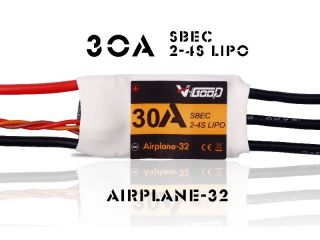 30A Airplane-32 - V-Good-Sunrise - 2-4S - Flug Brushless Regler