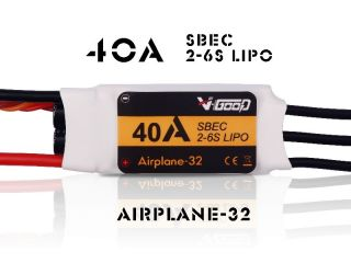 40A Airplane-32 - V-Good-Sunrise - 2-6S - Flug Brushless Regler