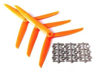 7 x 3,5 - 3-Blatt Propeller Set - linksdrehend