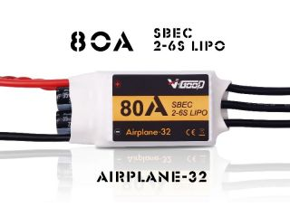 80A Airplane-32 - V-Good-Sunrise - 2-6S - Flug Brushless Regler