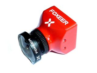 Foxeer Monster Mini Pro V3 1/2.9 CMOS 1200TVL 16:9 PAL/NTSC Switchable WDR FPV Camera - Red 1.8mm Linse