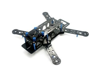 Nighthawk 250 PRO Carbon KIT V2 - FPV Quadcopter Speed Racer Frame Blau