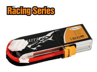 TATTU 1800mAh 11.1V 75C 3S1P Lipo Battery - Specially Made for Victory with Limited Edition