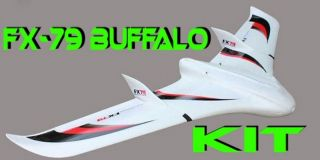 ZETA FX-79 Buffalo KIT - 2000mm Professional FPV Flying Wing EPO Nurflügler
